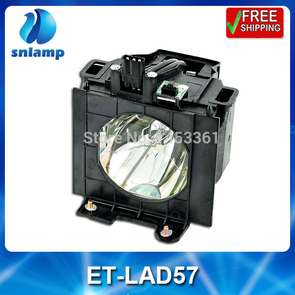 Replacement projector bulb lamp with housing ET-LAD57 for PT-D5700 PT-D5700L PT-D5700UL PT-DW5100 PT-DW5100L free shipping projector lamp projector bulb with housing et laa410 fit for pt ae8000 pt ae8000u