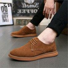 5d8aefc9a Zapatos de Hombre Zapatos de cuero de gamuza Casual mocasines para Hombre  Zapatos Oxford negros para hombres Zapatos Hombre tall.