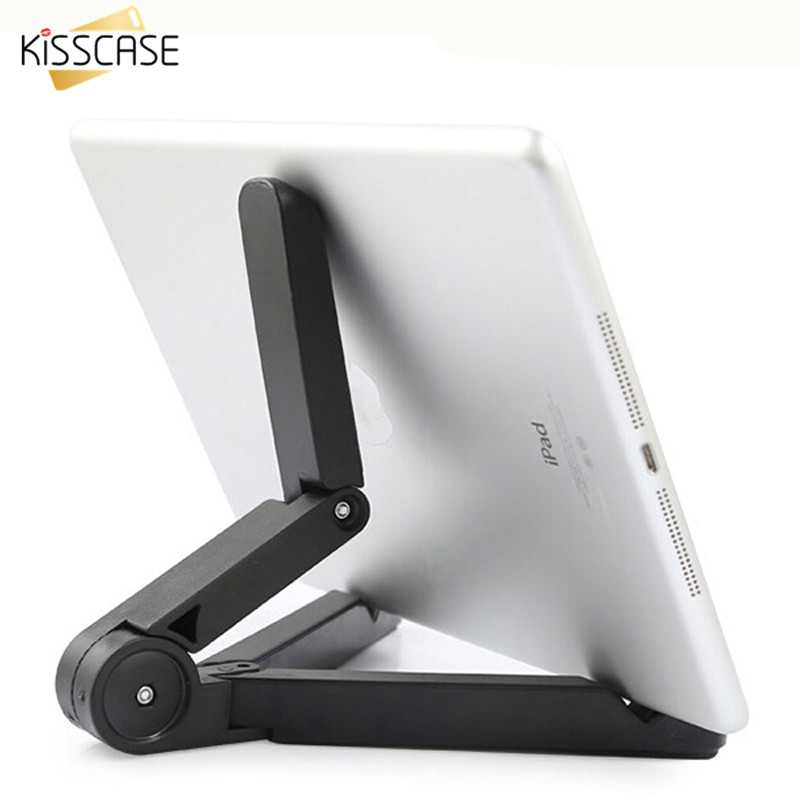 KISSCASE Universal Mobile Phone Holder Stand Mini Foldable Desk Holder For iPhone For Samsung Xiaomi Huawei Holder For iPad