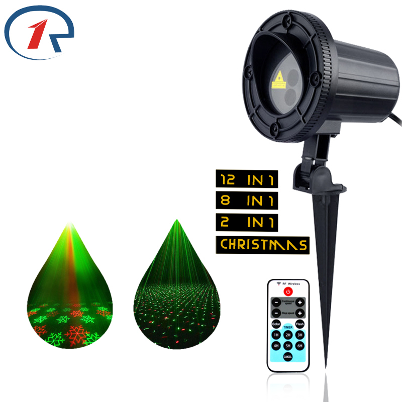 ZjRight laser light IR Remote RG Waterproof Christmas lights indoor garden gala party gift stage light KTV bar DJ disco lighting цена