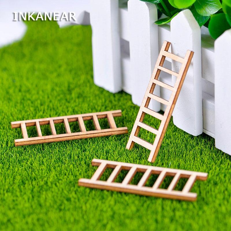 Gnome In Garden: Aliexpress.com : Buy INKANEAR Mini Wooden Ladder Fairy