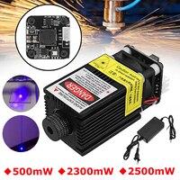 500/2300/2500mW EleksMaker 445NM Blue Laser Module 2.54 3P TTL/PWM Modulation For DIY Laser Engraver
