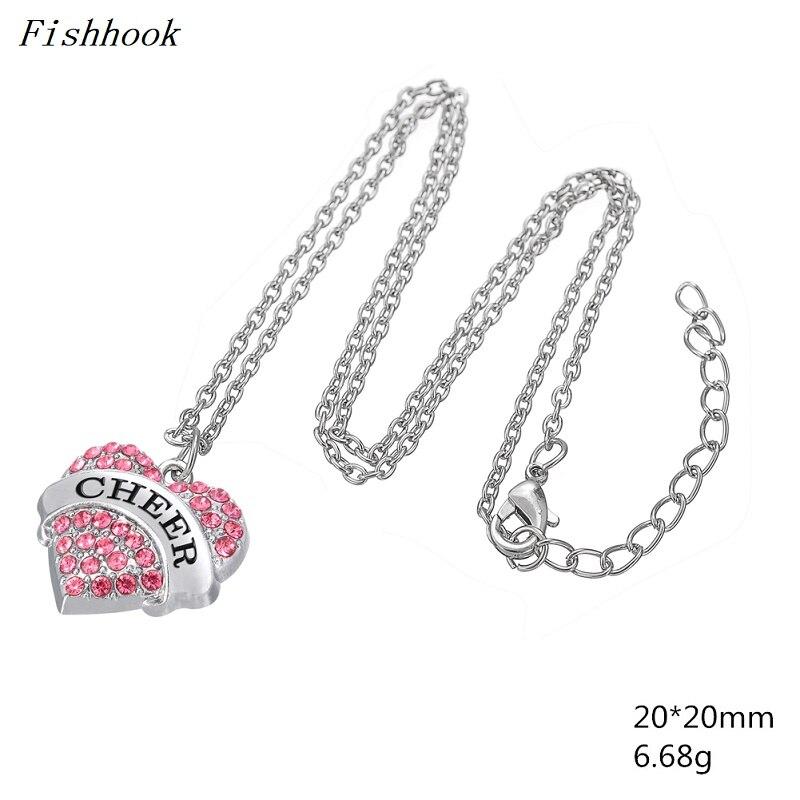 Fishhook Fashion Necklaces Engraved White Blue Pink Color