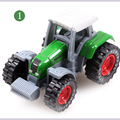1:64 alloy car slide small farmer car model children's  simulation toys car Great Educational Car Models For Children