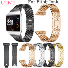 Mens watches womens bracelet For Fitbit Ionic Fashion/Classic Fish scale Watchband smart watch wristband