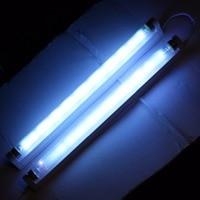 30W Quartz UV Germicidal CFL Fluorescent Straight Lamp With Fixture Clean by Sterilizer Kit UVC Disinfection Kill dust mites