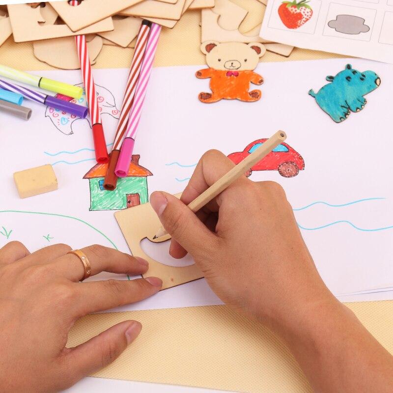 pintura, aprendizaje, cuaderno, madera, juguetes, dibujo, juguetes, - Educación y entrenamiento - foto 3