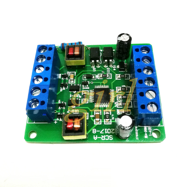 Single phase thyristor trigger board SCR A can adjust voltage, temperature modulation and speed regulation with MTC MTX module