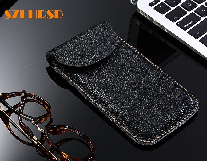 SZLHRSD Genuine Leather phone bags For HTC Desire 530 628 630 650 12 cases for HTC One X10 Flip cover slim pouch stitch sleeve