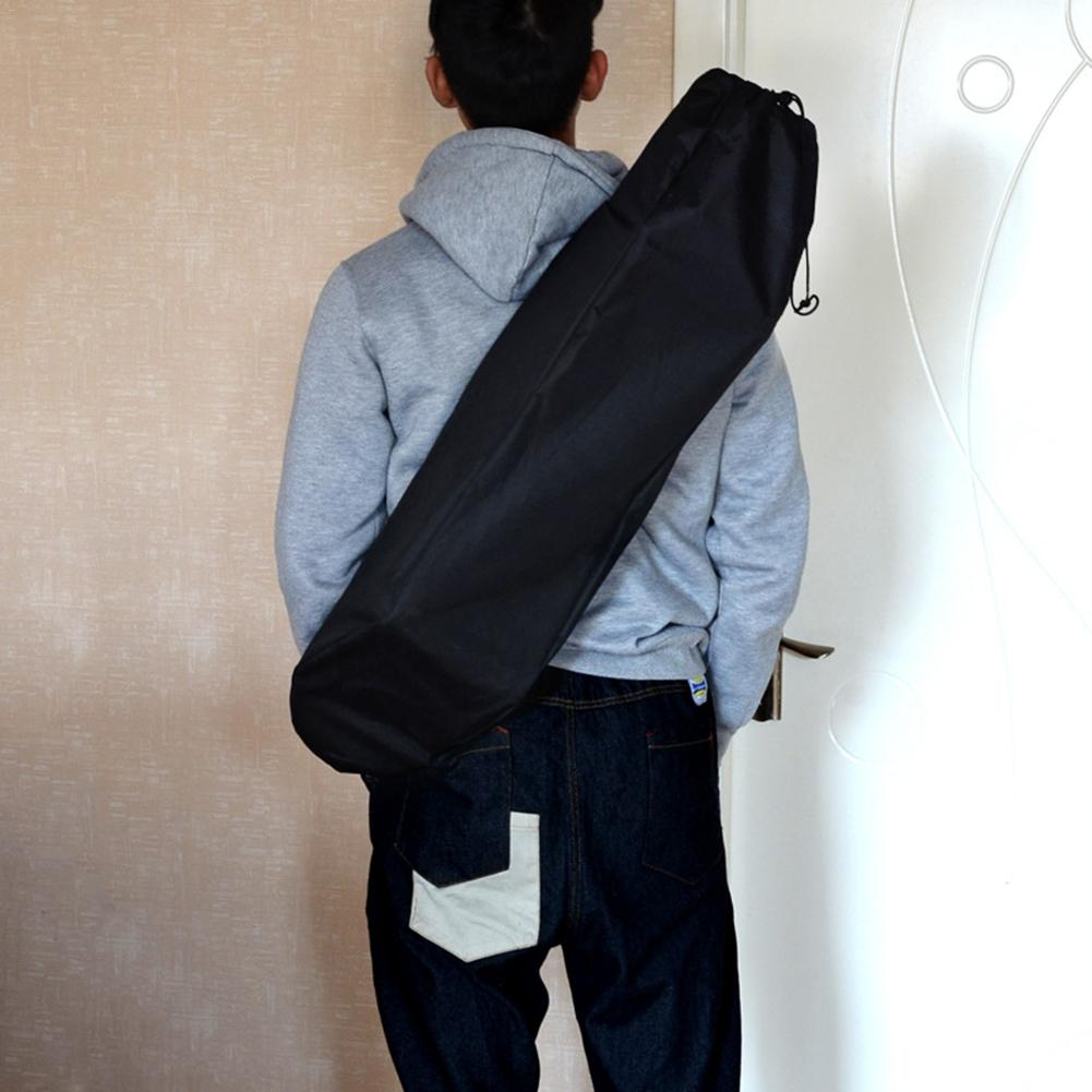 Adjustable Black Longboard Backpack Skateboard Shoulder Bag Dance Board Drift Board Travel Longboard Rucksack Accessories Cover