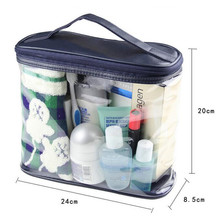 Transparent Toiletry Cosmetic Bag Organizer Beauty Products Brushes Lipstick BagsTravel Special Purpose Makeup Cases Accessories