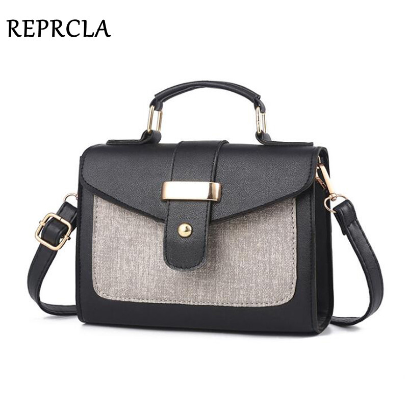 REPRCLA 2018 Fashion Shoulder Bag Leather Handbag Small Flap Women Messenger Bags High Quality PU Crossbody Bags Ladies Purse чехол флип pulsar shellcase для sony xperia z4 z3 черный