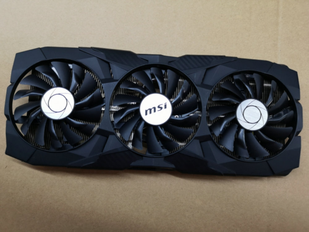 Original For MSI GTX1080TI 11G DUKE Graphics Video Cooler Cooling Fan Radiator No Card