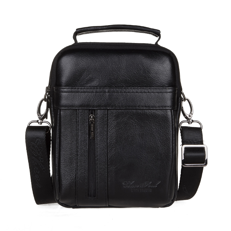 ФОТО 100% guarantee genuine leather messenger bags for men high quality male travel shoulder bags handbags business briefcase