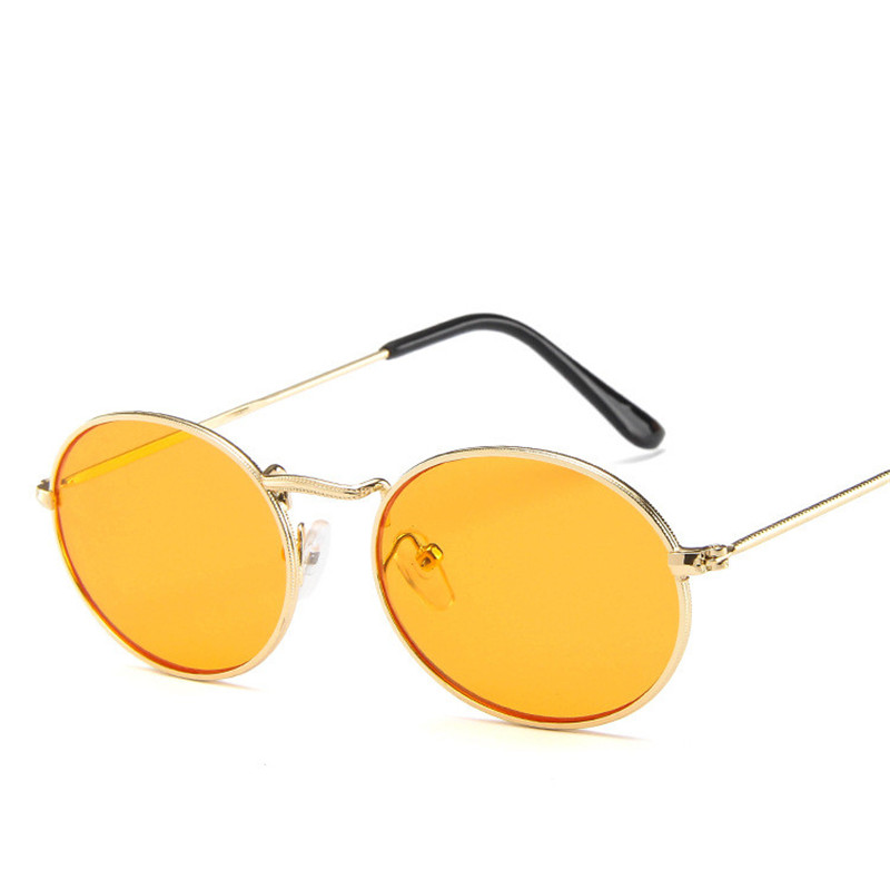 CitySpiner Round Orange Sunglasses Women 2019 Female Sun Glasses Woman Sunglass Men Vintage Luxury Brand Designer Oculos Y304