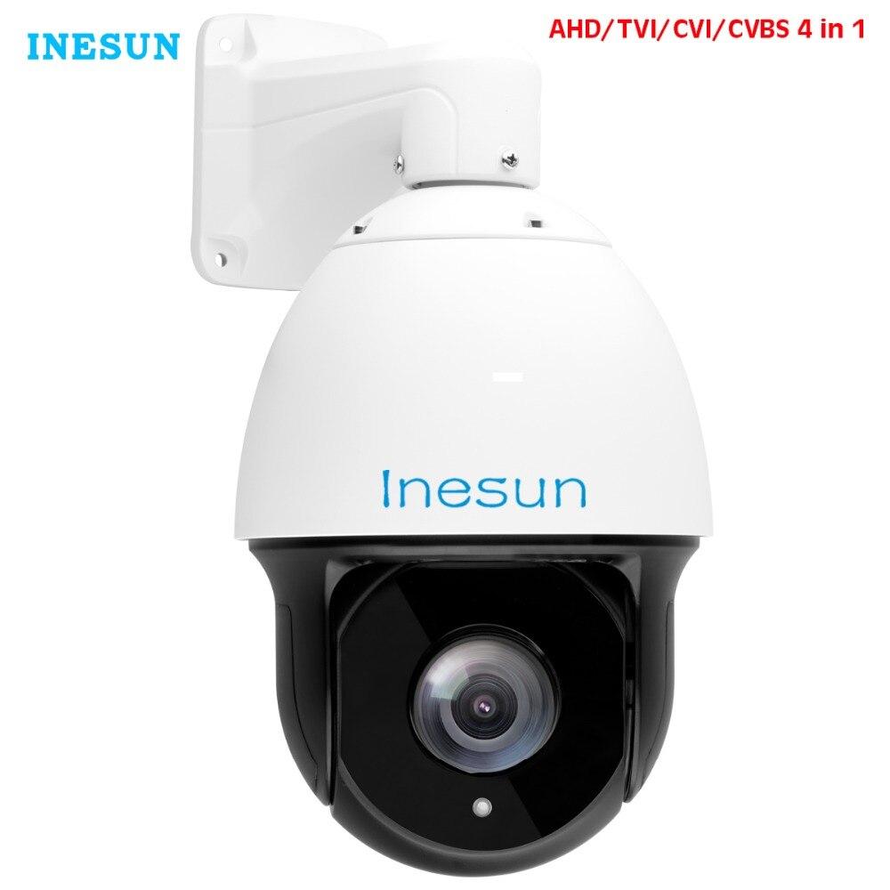 Inesun 7 pouces caméra de Surveillance vidéo de sécurité extérieure HD 1080 P 5MP dôme haute vitesse 30X Zoom Autofocus 120 m IR Vision nocturne