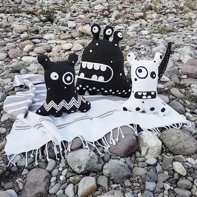 Baby pillow travesseiro Boy monsters girls ice Cream pillow cushion decorative pillow for baby room yastik kids kussen Gift