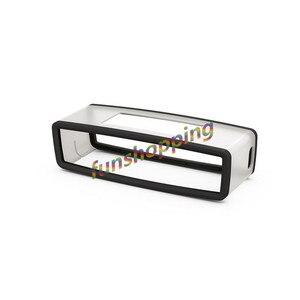 Image 3 - Yeni Moda TPU Yumuşak silikon kılıf Bose SoundLink Mini bluetooth hoparlör Silika jel Koruma Seyahat Çantası hoparlör kutusu