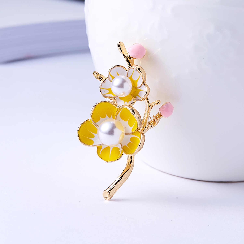 Rinhoo, полностью желтый хрустальный Подсолнух, броши для женщин и мужчин, сплав, желтый, зеленый, эмаль, цветок, свадебная Банкетная, праздничная брошь