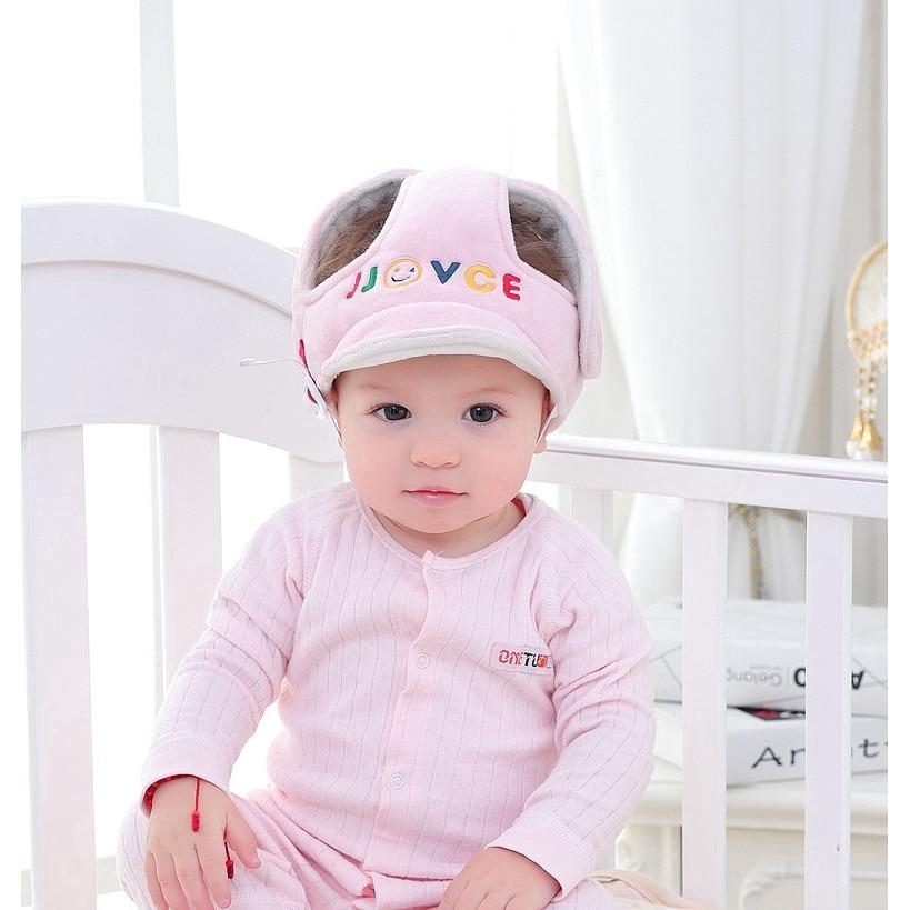 Купить с кэшбэком Safety Helmet Toddler Cushion Bumper Bonnet Anti-collision Cap Hat  Breathable Baby Safety  Child Safety  Baby Head Protector