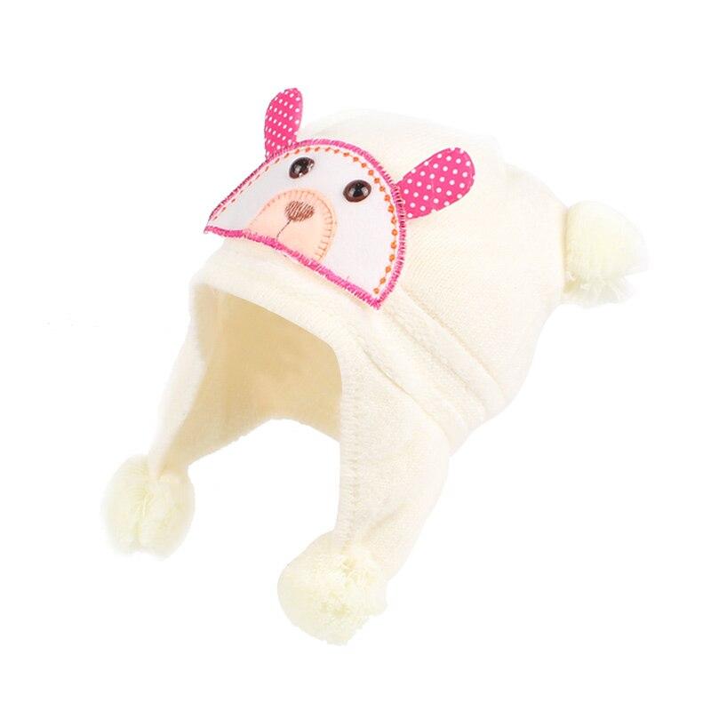 Плюшена шапка за бебешки момичета  - Бебешки дрехи - Снимка 5