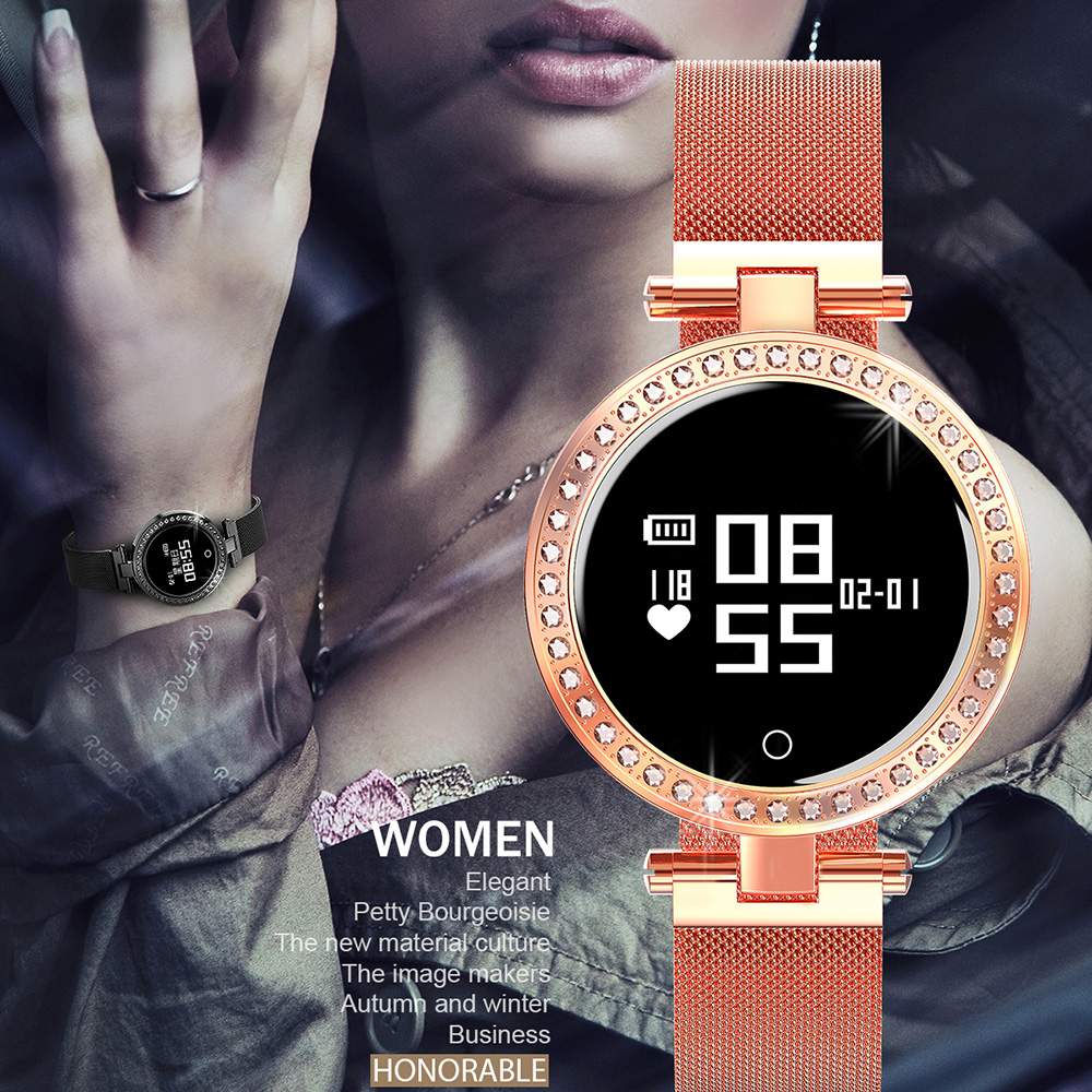 X10 Luxury IP68 Smart Watch Women Female Heart Rate Calorie Fitness Tracker For Android IOS Phone Sleep Tracker Smartwatch RelojX10 Luxury IP68 Smart Watch Women Female Heart Rate Calorie Fitness Tracker For Android IOS Phone Sleep Tracker Smartwatch Reloj