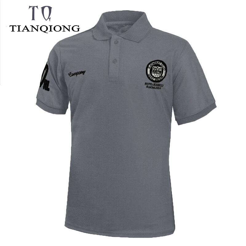 New High Quality Men's Polo Shirt Men Short Sleeve Casual Solid Polos Men's Slim Fit Breathable Polo Shirt Homme 7 Colors