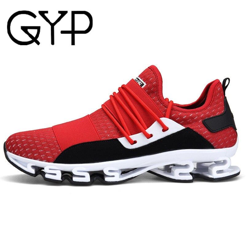 GYP en plein air chaussures de sport 2018 Conception Semelles chaussures de course pour Hommes Rembourrage Respirant Hommes Sneakers chaussures de sport Mâle AA-16