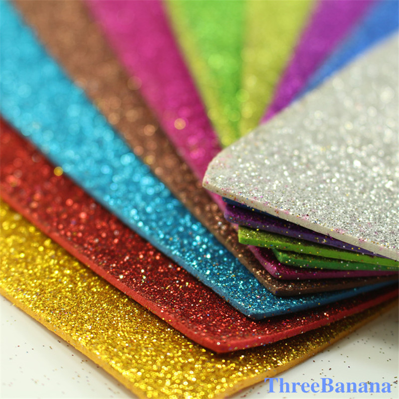 20 chiyogami sponge glitters foam paper fold for Soft foam sheets craft