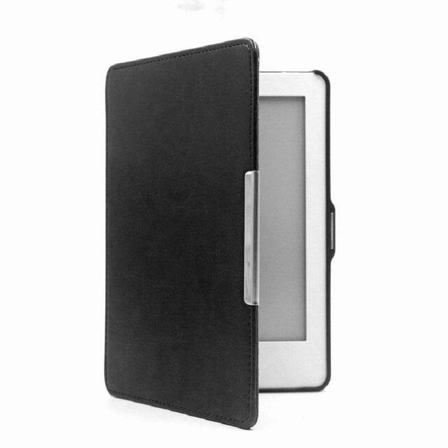 Kobo Glo funda magnética Sleep & Wake up Flip funda para Kobo ebook lector N613 6 pulgadas PU Funda de cuero
