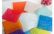 50Pcs Neue Herz-förmigen Blase Taschen Aufblasbare Tasche Schaum Wrap Für Verpackung Material Geschenk Dekoration 15*20cm (5.9*7.87