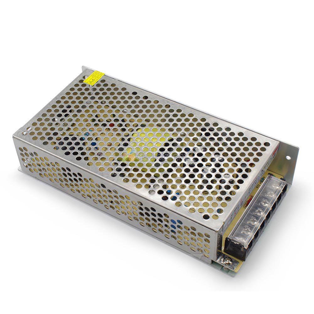 DC12V 10A 120W Regulated Switch Power Supply Transformer Voltage Coverter 100~240V AC Input