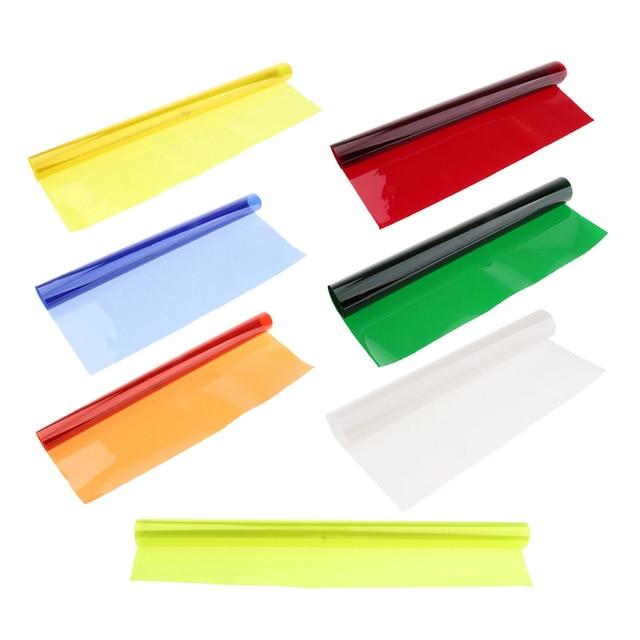 MagiDeal اللون التوازن تأثير هلام تصفية للكاميرا Speedlite ضوء أحمر الشعر للصور استوديو ستروب ضوء فلاش LED أضواء
