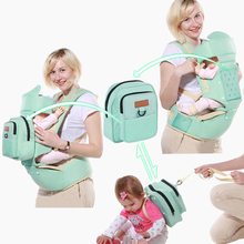 Baby Carrier 10 I 1 Multifunksjon Toddler Ryggsekk Sling Kids Hip Seat Newborns Kangaroo Hipseat With Diaper Bag Loading 20kg