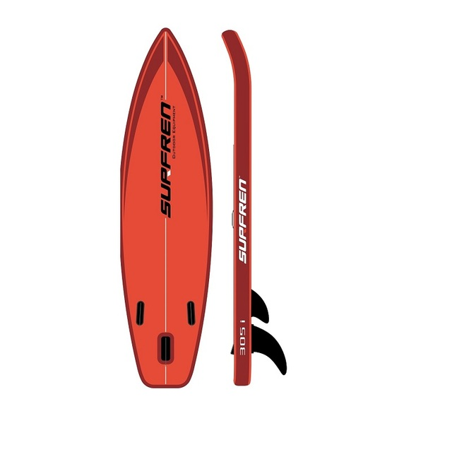 Inflatable Surf Stand Up Sup paddle board iSUP SurfingPaddleboard SURFREN 305i wakeboat bodyboard kayakboat size305*81*15cm