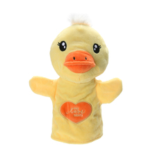 Cute Cartoon Duck Hand Puppet Kids Favor Hand Play Doll Toy Duckling Baby Sleep Story Hand Puppet Parent-Child Interaction Toy