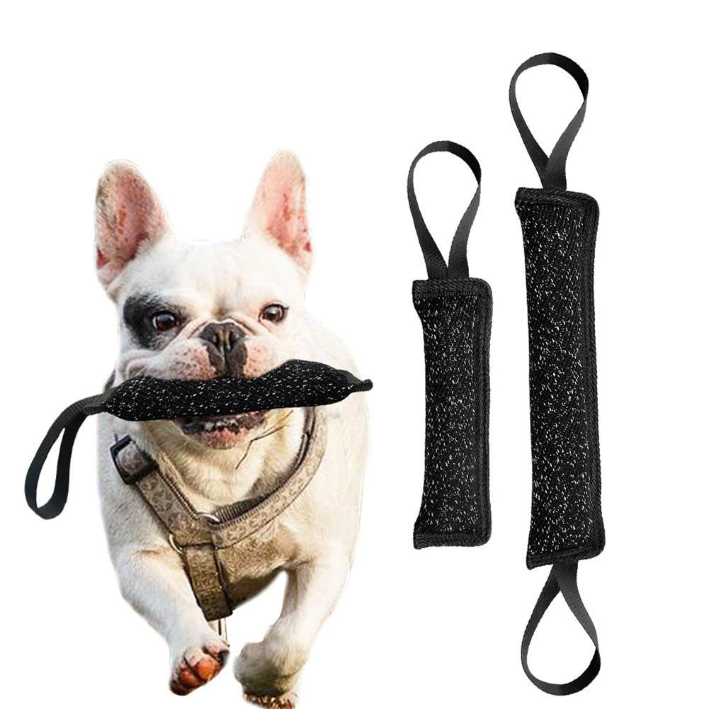 Dog Tug Toy Agility: Funny Pet Dog Puppy Bite Tug Interactive Training Chewing