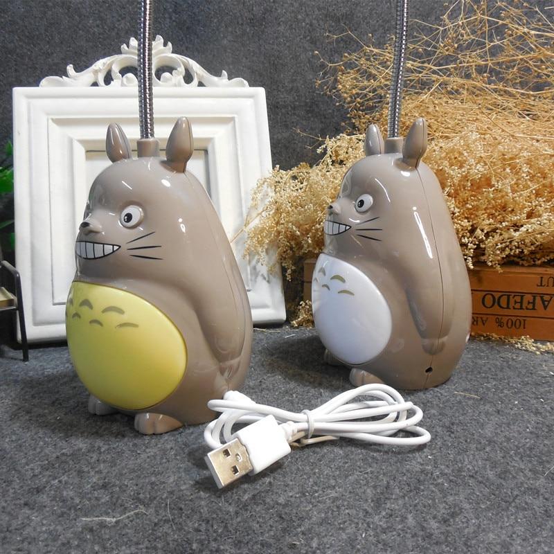 Kawaii Cartoon My Neighbor Totoro table Lamp Led Night Light USB Reading Table Desk Lamps for Kids Gift Home Decor Novelty