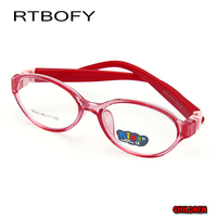 RTBOFY 2017 New Student Glasses Frame Children Myopia Prescription Eyeglasses Optical Kids Spectacle Frame For Baby