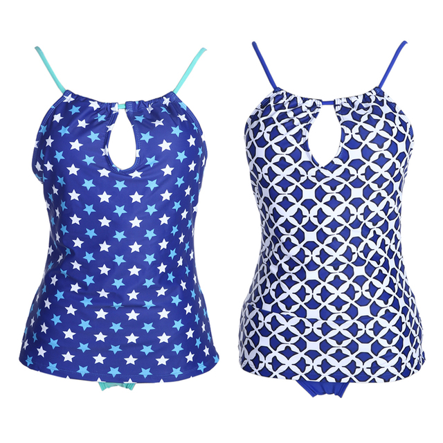 Tankini with Bottoms – Two Piece Swimsuit Set
