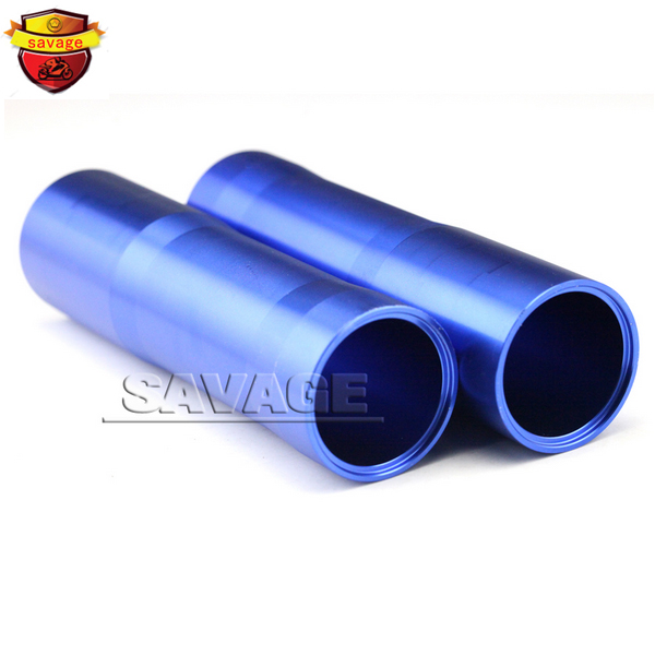 Подробнее о For YAMAHA MT07 FZ07 MT-07 FZ-07 2014-2015 Blue Motorcycle CNC Aluminum Front Fork Tube Slider Cover for yamaha mt07 fz07 mt 07 fz 07 2014 2015 motorcycle cnc billet aluminum front fork cover caps blue free shipping