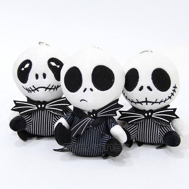 The Nightmare Before Christmas Jack Skellington Plush Toy Soft Stuffed Doll  Gift for Children 13cm 3 dc478b392d