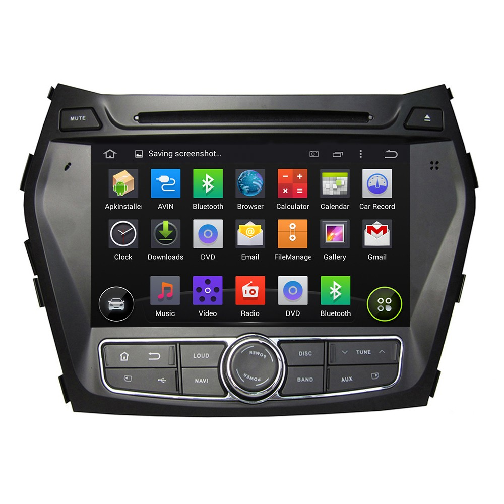4 Core HD For Hyundai Santa Fe IX45 2013 2014 Car DVD Android 5 1 1