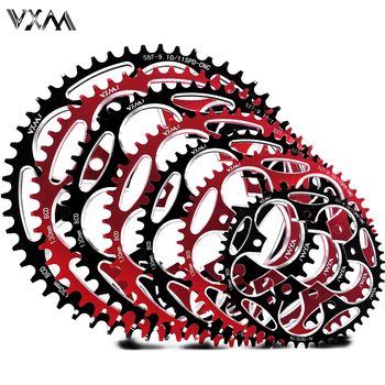VXM Road Bicylcle 130BCD 50T 52T 54T 56T 58T 60T Narrow Wide Chainwheel Bike Alloy Ultralight Climbing Power Chainring Plate