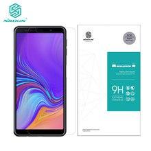 กระจกนิรภัยสำหรับ Samsung Galaxy A7 2018 2017 A750F A720 Nillkin Amazing H 0.33 มิลลิเมตรป้องกันหน้าจอ Samsung A7 2018 แก้ว