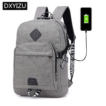 DINGXINYIZU men anti-theft computer backpack boys school bags male usb bag pack travel backpack laptop bag 15.6 password lock 2018 new casual usb male men backpack anti theft password lock design school backpack for teens college student multi pocket bag