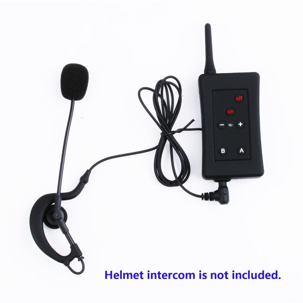 Image 5 - 3 шт. наушники с креплением для наушников 3,5 мм разъем гарнитура  для Vnetphone V4 V6 V2 500C FBIM мотоцикл Bluetooth Интерком BT  ИнтеркомНаушники для шлемов   -