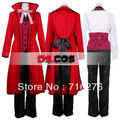 Kisstyle Fashion Kuroshitsuji Black Butler Grell Sutcliff Cosplay Costume
