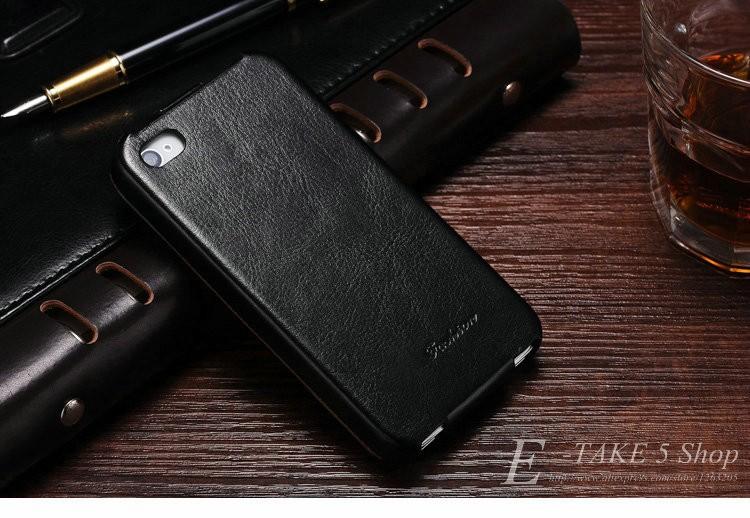 Pokrowiec case dla iphone 4 4s pu skóra pokrywa telefonu torba coque dla apple iphone 4s case luksusowe biznes styl tomkas 9