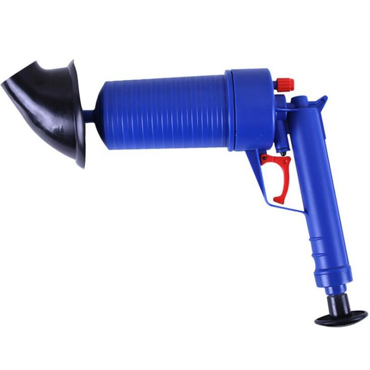 air power drain blaster gun and high pressure sink plunger and cleaner pump for bathroom